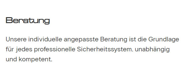 Alarmanlagen_Beratung für  Heidelberg
