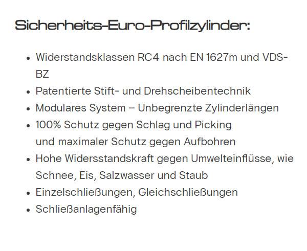 elektronische Tuerzylinder Protect HIC Vision für  Heidelberg